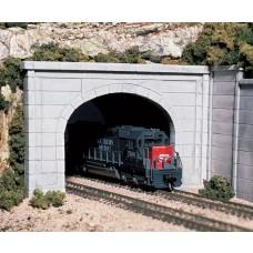 N Double Tunnel Portal Concret C1156
