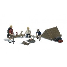 Woodland Scenics N Scale Campers Figures