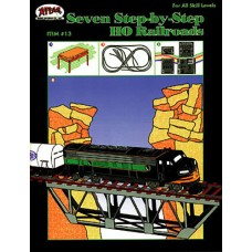 Atlas 7 Step-By-Step HO Scale Railroads Book