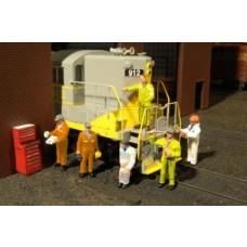 Bachmann O Scale Mechanic Figures
