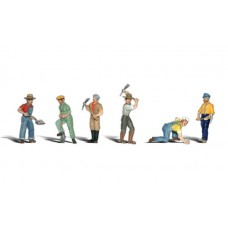 Woodland Scenics N Scale Track Workers Figures