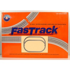 O-36 FasTrack Outer Passing Loop Add-on Track Pack
