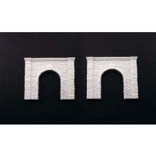 N Single Tunnel Portal Cut Stone