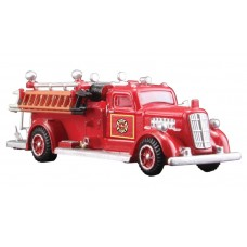Red 1950s Fire Truck (HO)