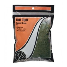 Woodland Scenics Fine Turf Green Grass 12 oz