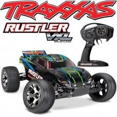 Traxxas Rustler VXL 1/10 Scale Truck Green