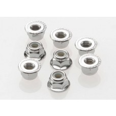 4mm Nylon Lock Nuts (8)