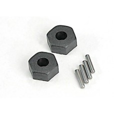 12mm Plastic Wheel Hex and Pins