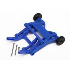 Blue Wheelie Bar Assembly