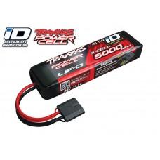 Traxxas 11.1V 5000mah 3S 25C LiPO Battery Traxxas ID Plug