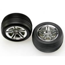 2.8 Front Twin Spoke Wheels & Alias Tires