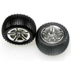 2.8 Rear Twin Spoke Wheels & Alias Tires