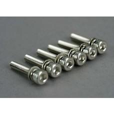 3 x 15mm Cap Head Screws (6)