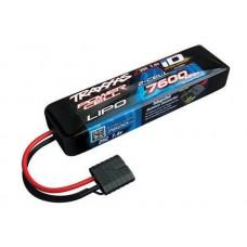 7600mAh 7.4v 2S 25C LiPo Battery iD Plug