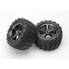 Gemini Black Chrome Wheels & Talon Tires (2)