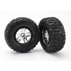 SCT Black Beadlock Wheels and Kumho Tires (2)