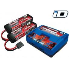 Traxxas Dual Charger/LiPo Battery Combo X-Maxx/E-Revo/E-Maxx