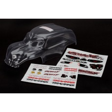 Clear Skully Heavy Duty Body with Decals