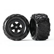 Traxxas Teton Mounted Wheels and Tires (2) 7672
