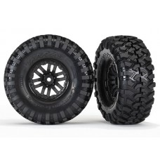 "Traxxas Mounted Canyon Trail 1.9"" Tires/TRX-4 Wheels (2) 8272"