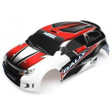 Traxxas Painted Red Body 1:18 LaTrax Rally