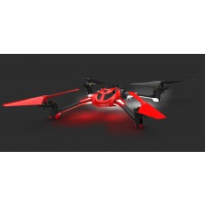 Alias Quad Rotor Heli RTF Red