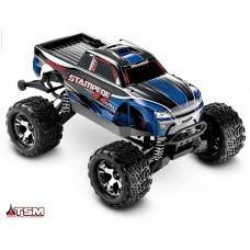 Traxxas 1/10 Stampede 4x4 VXL w/Self-Righting Blue