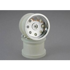 Traxxas 2.2 Rear Chrome Wheel