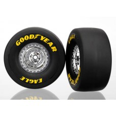 Funny Car Mounted Rear Tires