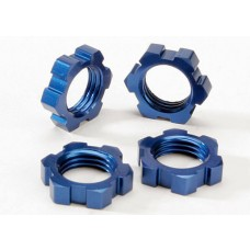 Traxxas 17mm Blue Aluminum Wheel Nuts (4)