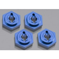 Aluminum Wheel Hubs Blue 1/16 (4)