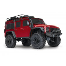 Traxxas TRX-4 Land Rover 1/10 Scale Crawler Red