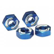 Hex Wheel Aluminum Blue