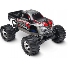 Traxxas Stampede 4x4 1/10 Brushed Truck RTR Silver