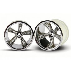 Rear Pro Star Chrome Wheels