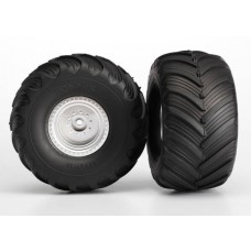 Terra Groove Dual Profile Tires Mounted Front 2wd/4x4