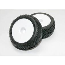 Traxxas 2.2 White Wheels and Response Pro Tires (2)