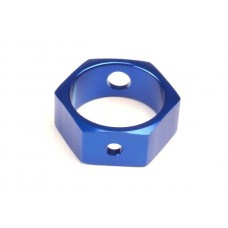 Blue Aluminum Hex Brake Adapter