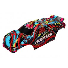 Traxxas Rustler Painted Hawaiian Body 3749