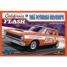 Moebius 1/25 1965 Plymouth Belvedere California Flash Plastic Model Kit