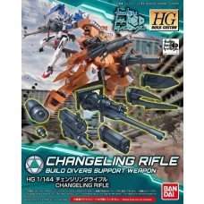 Bandai Changeling Rifle Gundam Build Plastic Model Kit