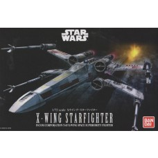 Bandai 1:72 Star Wars X-Wing Starfighter Plastic Model Kit