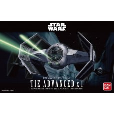 Bandai 1:72 Star Wars Tie Advanced x1 Plastic Model Kit