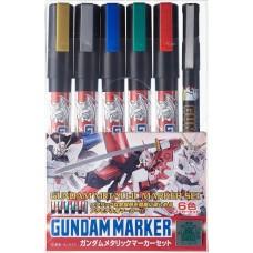 Gunze Sangyo Gundam Metallic Marker Set (6)