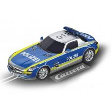 Digital 132 Mercedes-SLS AMG Polizei Digital Slot Car