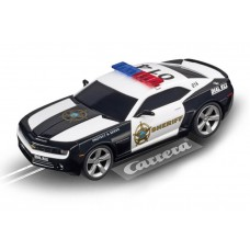 Carrera 1/32 Evolution Chevrolet Camaro Sheriff w/Lights Slot Car