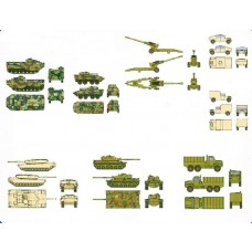 1/350 US Marines Armor Accessories Set