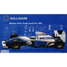1/20 Williams FW16 Pacific Grand Prix 1994 Plastic Model Kit