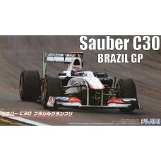 1/20 Sauber C30 Brazil GP Plastic Model Kit