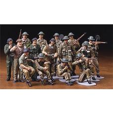 Tamiya 1/48 WWII British Infantry Plastic Model Set